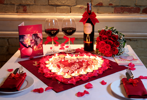 ROMANTIC VALENTINE DINNER AT DIAMOND BAY RESORT & SPA