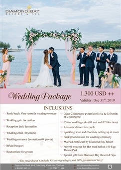 WEDDING PACKAGE 30T